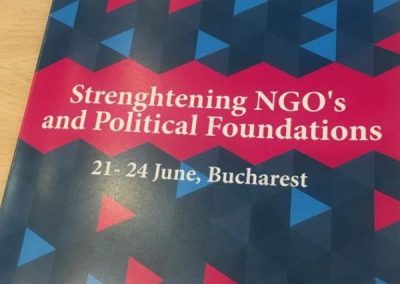 Strenghtening NGO's and Political Foundations