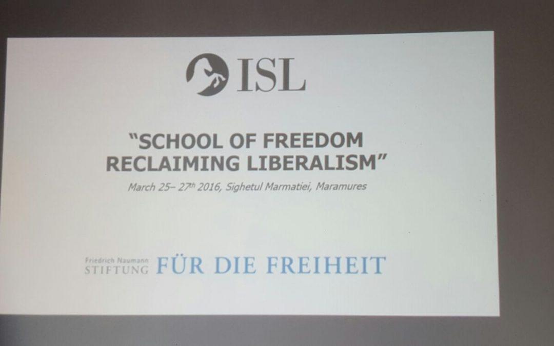 School of Freedom – Reclaiming Liberalism