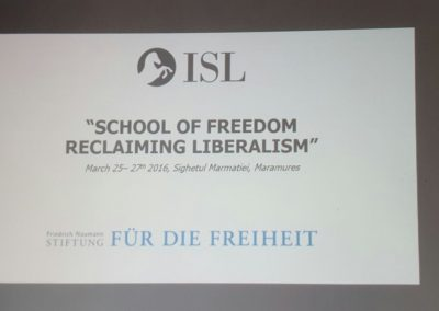 School of Freedom – Reclaiming Liberalism