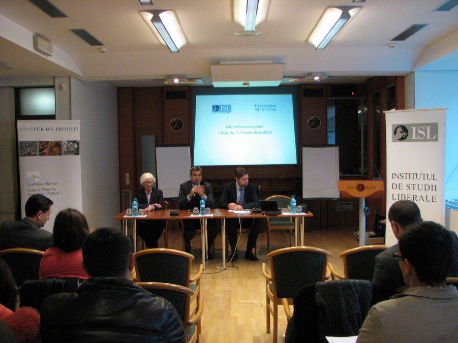 Seminarul Liberalismul European, Chișinău, Republica Moldova