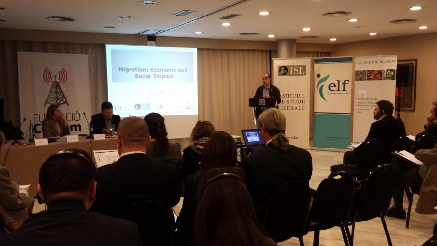"""Seminarul """"Migrației: Impactul economic și social, Barcelona, Spania"""""""