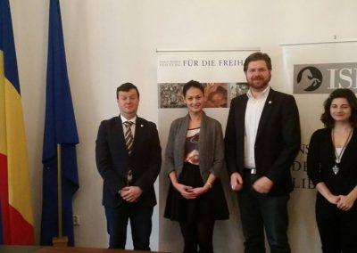 Memorandumul de cooperare cu Fundația Friedrich Naumann