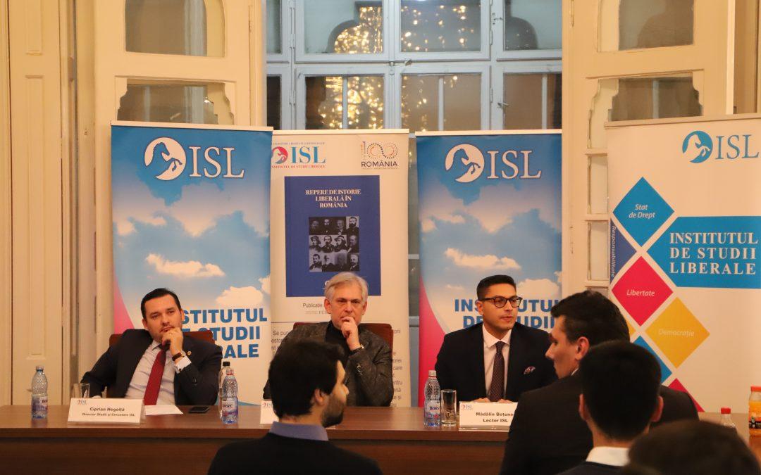 Colocviul ISL – 160 de ani de la Unirea Principatelor Române